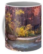 Fall Foliage Along The Virgin River Coffee Mug