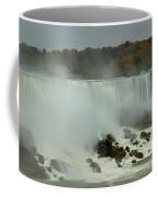 Fall Foliage At American Falls Panorama Coffee Mug