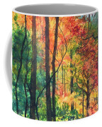 Fall Foliage Coffee Mug by Barbara Jewell