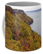 Fall Foliage On The New Jersey Palisades II Coffee Mug