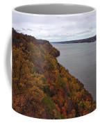 Fall Foliage On The New Jersey Palisades  Coffee Mug