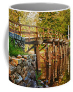 Fall Foliage Over The North Bridge Coffee Mug
