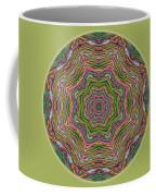 Fall Grass Mandala Coffee Mug