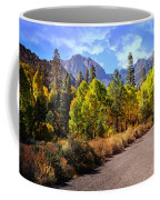Fall Hiking In The High Sierras Coffee Mug