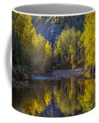 Autumn Reflections In Fort Mcmurray Coffee Mug