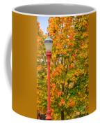 Fall Lamppost Coffee Mug