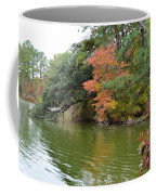 Fall Landscape Around The Lake 2 Coffee Mug