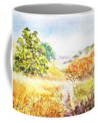 Fall Landscape Briones Park California Coffee Mug