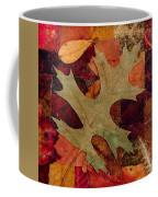 Fall Leaf Collage Coffee Mug