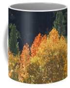 Fall Leave On The East Verde River Coffee Mug