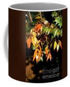 Fall Leaves Coffee Mug