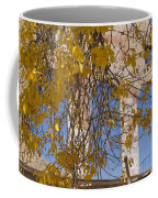 Fall Leaves On Open Windows Jerome Coffee Mug
