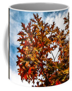 Fall Maple Leaves Coffee Mug