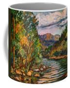 Fall New River Scene Coffee Mug