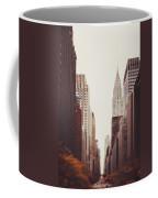 Fall On 42nd Street Coffee Mug