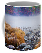 Fall On The Merced Coffee Mug by Bill Gallagher