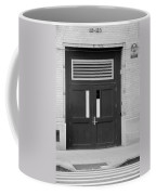 Fall Out In Black And White Coffee Mug
