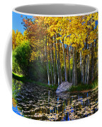 Fall Pond In Mammoth Coffee Mug