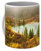 Fall Rain On Wilderness Lake Yukon T Canada Coffee Mug