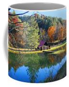 Fall Reflections At The Farm  Coffee Mug