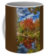 Fall Reflections In Maine Img 6312 Coffee Mug