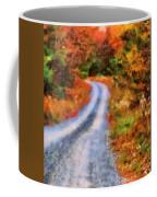 Fall Road To Paradise Coffee Mug