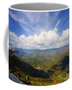 Fall Scene From North Fork Mountain Coffee Mug