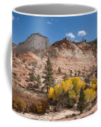 Fall Season At Zion National Park Coffee Mug