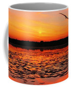 Fall Sunset In The Mead Wildlife Area Coffee Mug