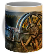 Fall Through The Wheels Coffee Mug