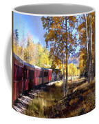 Fall Train Ride New Mexico Coffee Mug