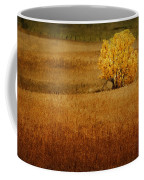 Fall Tree And Field #1 Coffee Mug