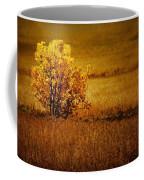 Fall Tree And Field #2 Coffee Mug