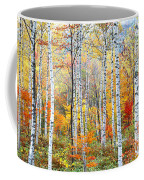 Fall Trees, Shinhodaka, Gifu, Japan Coffee Mug