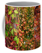 Fall Trio Collage Coffee Mug