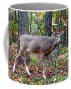 Fall Trophy Buck Coffee Mug