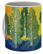 Fall Turn At Sunset Coffee Mug