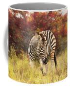Fall Zebra Coffee Mug
