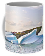 Fallen Clouds Icebergs In Saint Anthony Bay-newfoundland-canada  Coffee Mug