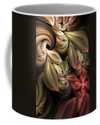 Fallen From Grace Abstract Coffee Mug