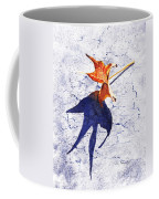 Fallen Leaf King Size Shadow Coffee Mug