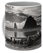 Fallen Sand Castles Coffee Mug