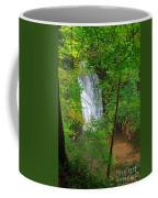 Falling Foss Waterfall In North York Moors National Park Coffee Mug