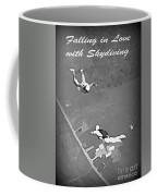 Falling In Love With Skydiving Coffee Mug