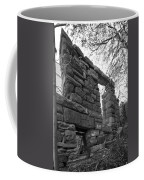 Falling Wall Jerome Black And White Coffee Mug