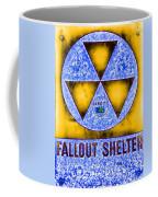 Fallout Shelter Abstract 4 Coffee Mug