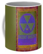 Fallout Shelter Abstract Coffee Mug