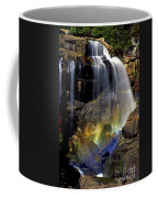 Falls And Rainbow Coffee Mug