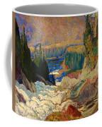 Falls - Montreal River Coffee Mug
