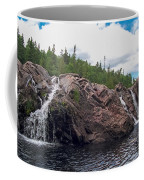 Falls On The Aguasabon River Coffee Mug